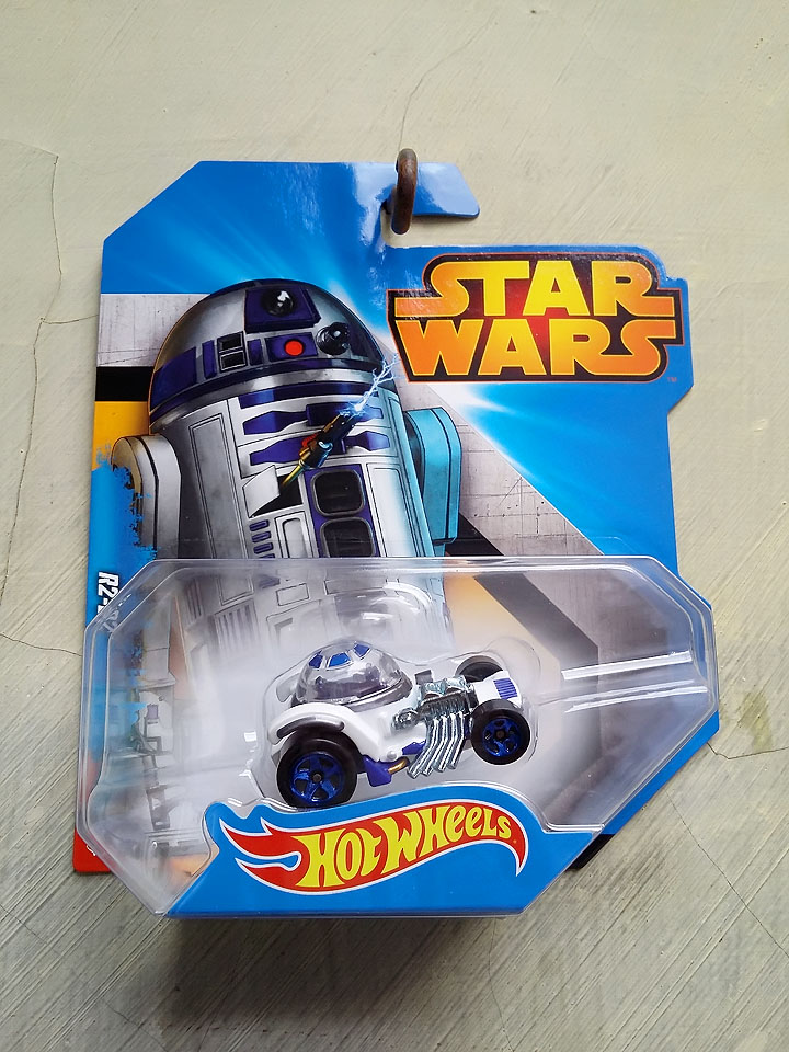Hot Wheels Star Wars White Gallery