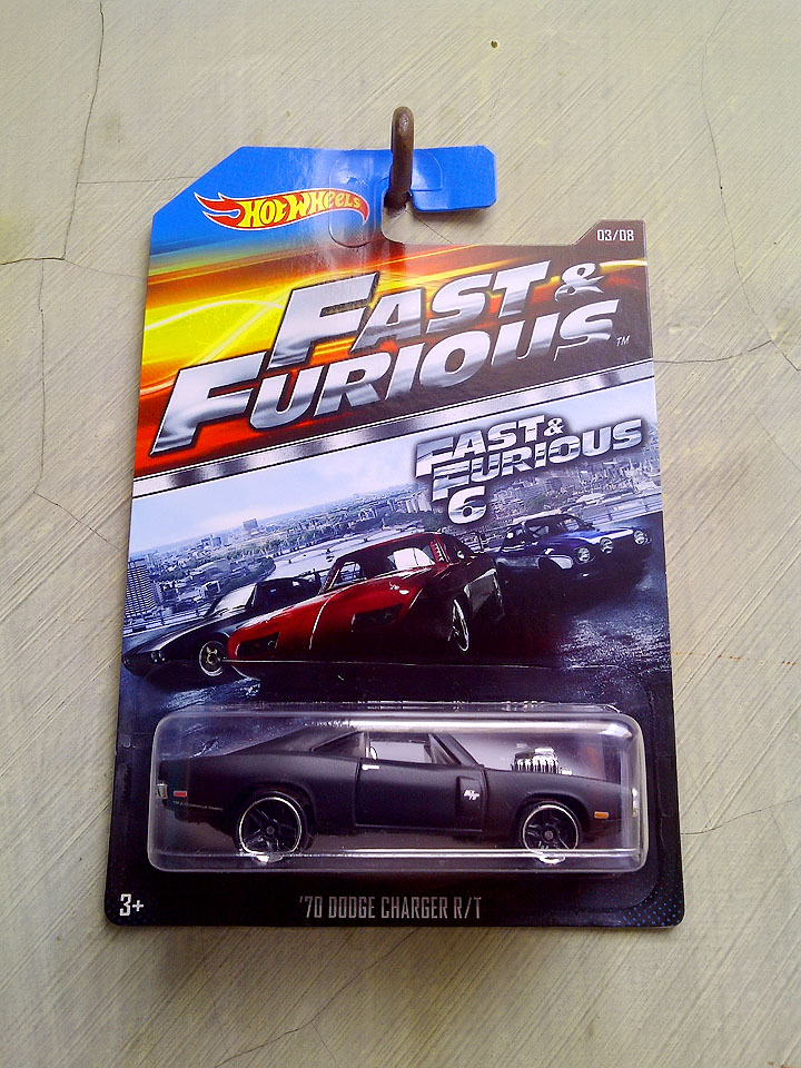 Hot Wheels Fast Amp Furious 70 Dodge Charger R T